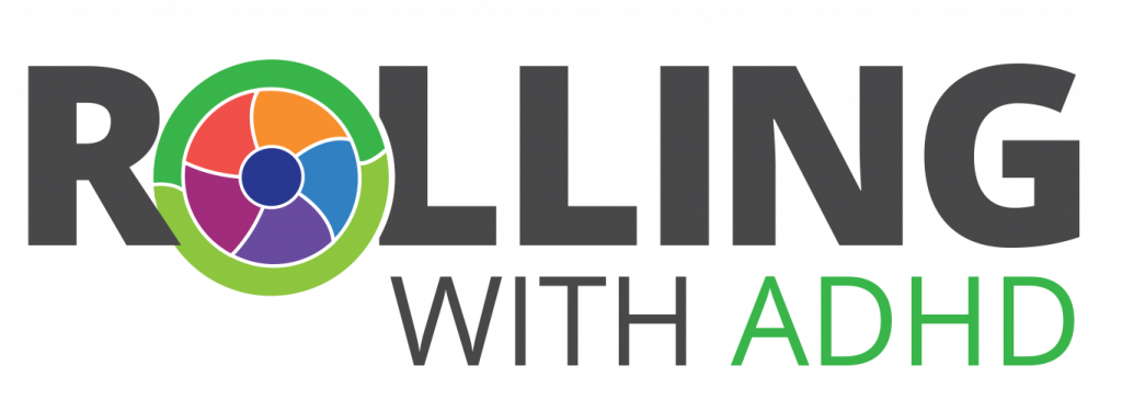 Rolling with ADHD logo